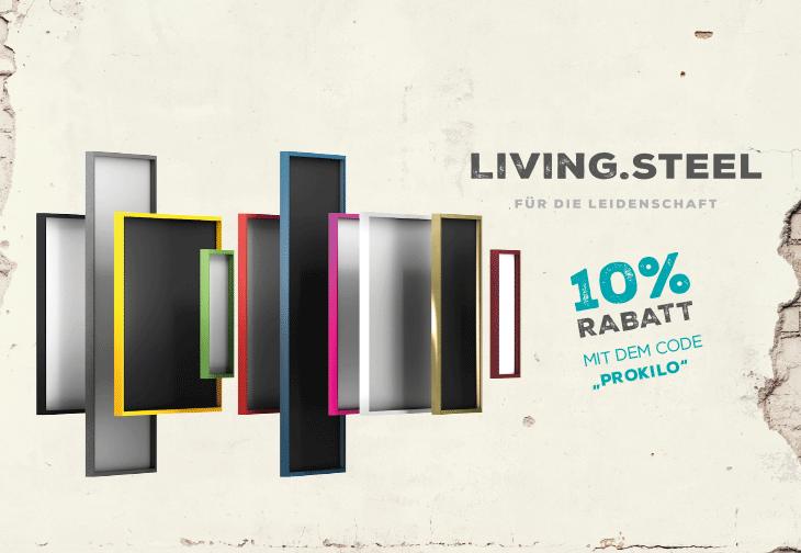 Living.steel - Trikotrahmen