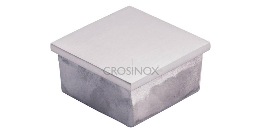 Crosinox Einsteckkappe für Quadratrohre