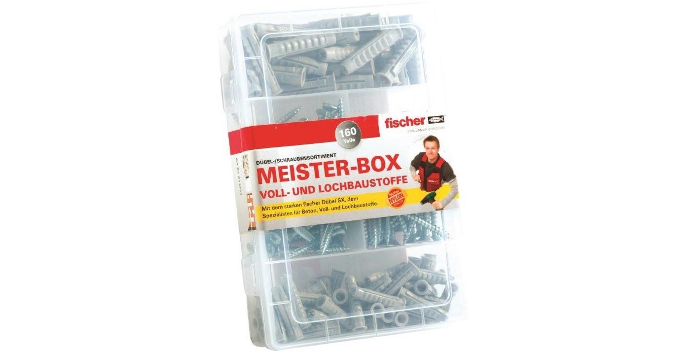 FISCHER Meisterbox SX Dübel + Schrauben