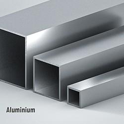 Quadratrohr Aluminium