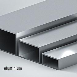 Rechteckrohr Aluminium