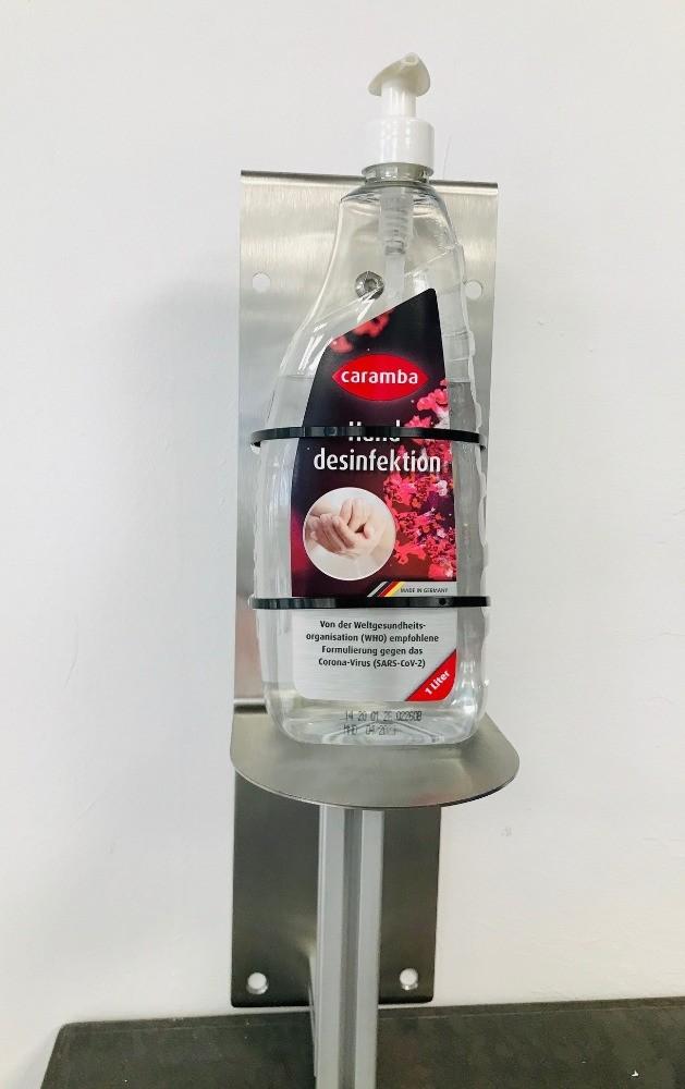 Wandhalter/ Desinfektion/ Hygienestation