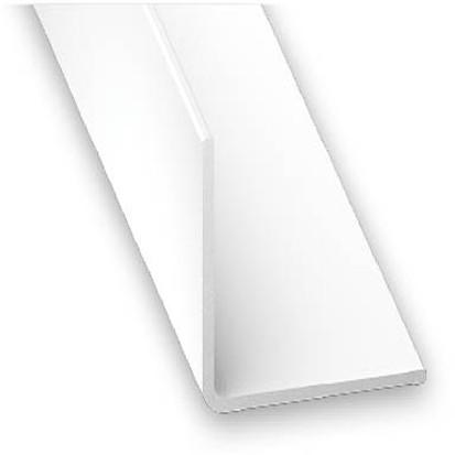 Winkelprofil PVC weiss 15x15x1x2600 mm