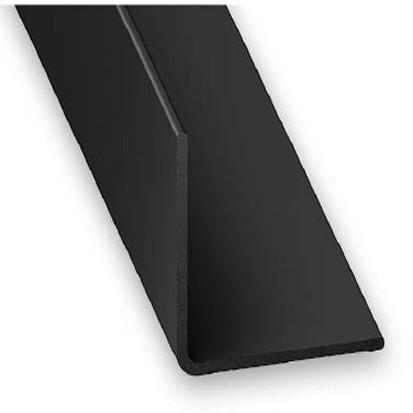 Winkelprofil PVC schwarz 20x20x1x2600 mm