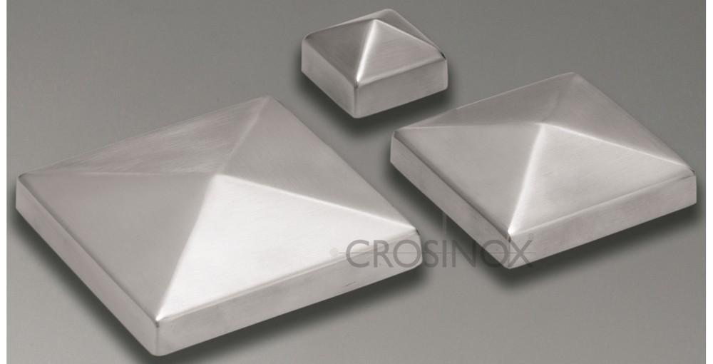Crosinox Pyramidenkappe für Quadratrohre