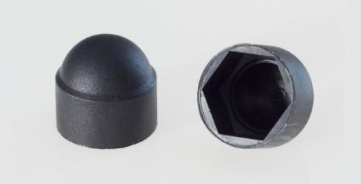 Mutterschutzkappen (schwarz)