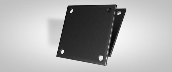 Kopf-/ Fußplatte 10 x 150 x 150 mm
