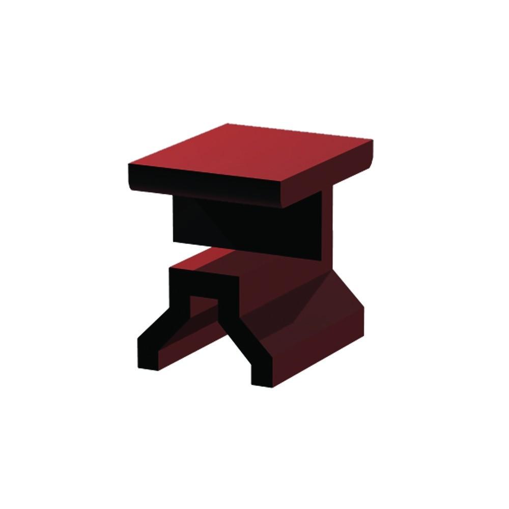 WPC Montage-Clip Boden aus Kunststoff