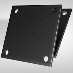 Kopf-/ Fußplatte 15 x 220 x 220 mm