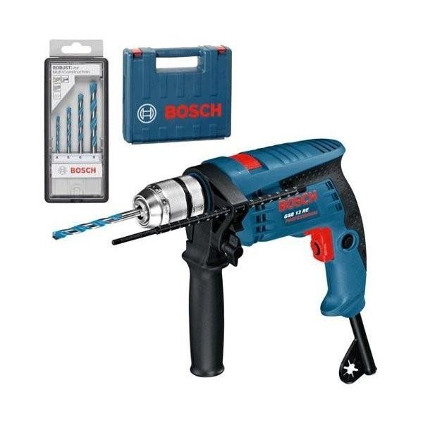 Bosch Schlagbohrmaschine GSB 13 RE +Zub.