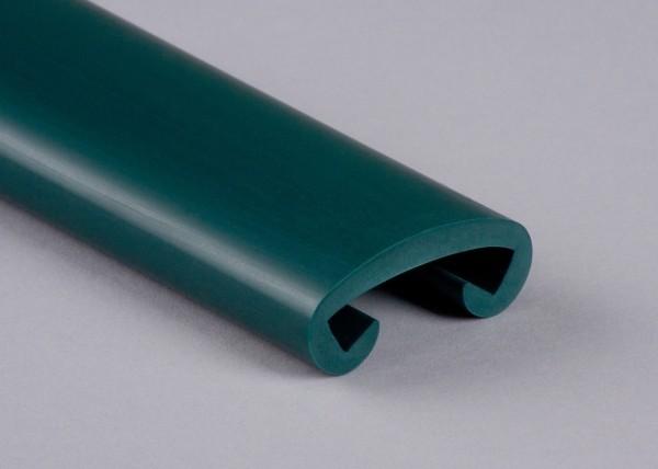 PVC Handlauf blaugrün 021 für Flachstahl 40 x 8 mm