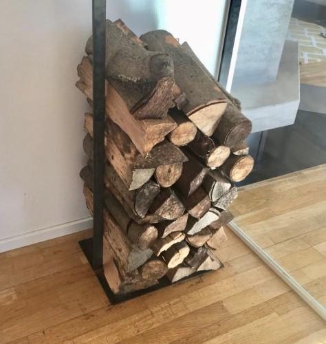 Holzlager für Kaminholz groß