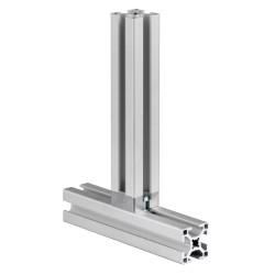 1 Stk. T-Verbinder Nut 8, 30x30 mm