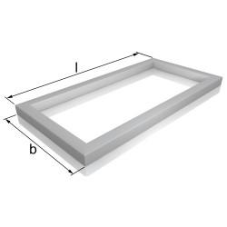 Rahmen aus Quadratrohr